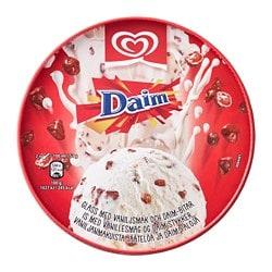 DAIM Sladoled od vanilije + komadi Daim čokolade, 390 g
