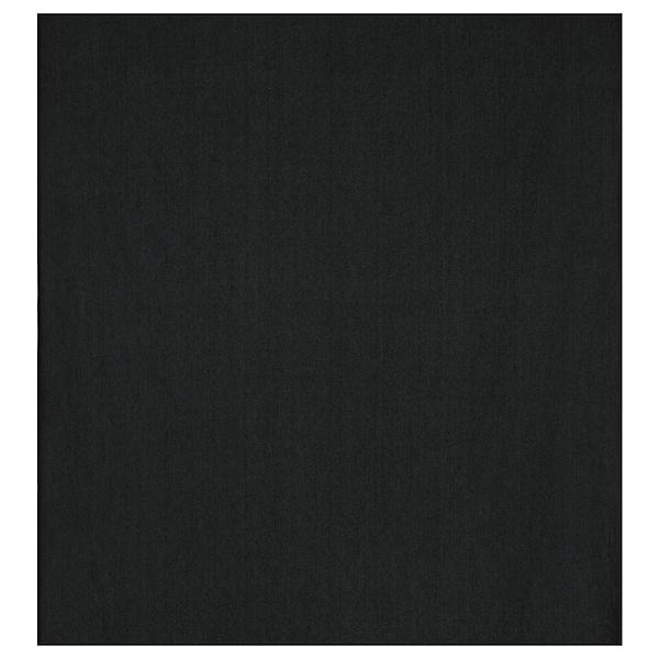 DITTE Tkanina, crna, 140 cm