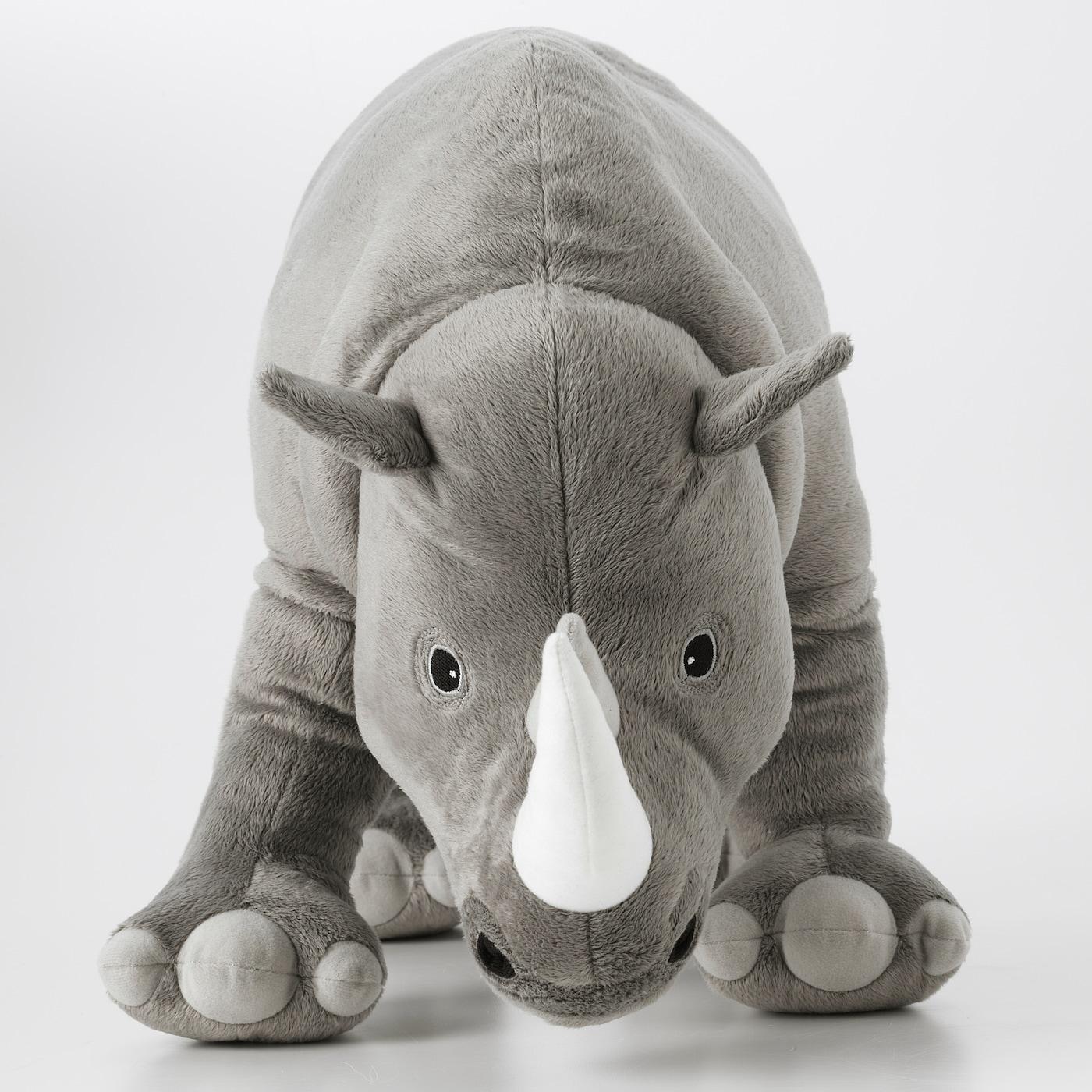 DJUNGELSKOG Plišana igračka, nosorog