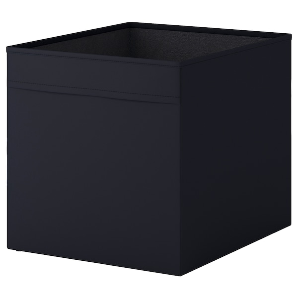 DRÖNA Kutija, crna, 33x38x33 cm