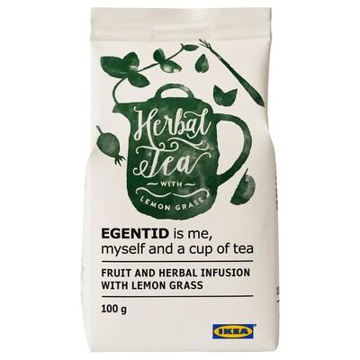EGENTID Voćni i biljni čaj, limunska trava/s UTZ certifikatom, 100 g