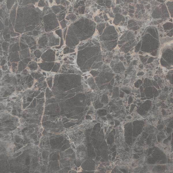 EKBACKEN Radna ploča po mjeri, tamnosiva efekt mramora/laminat, 45.1-63.5x2.8 cm