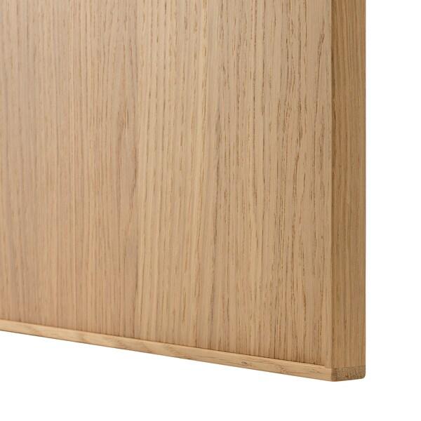 EKESTAD Fronta za perilicu posuđa, hrast, 45x80 cm