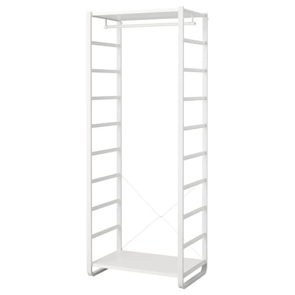 ELVARLI 1 dio, bijela, 84x55x216 cm