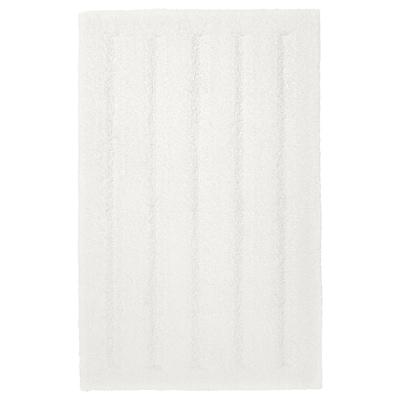 EMTEN Kupaonski tepih, bijela, 50x80 cm