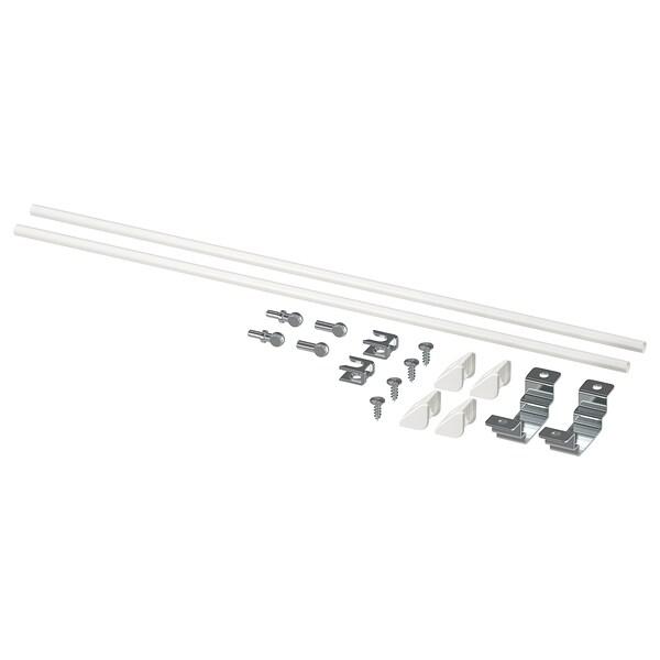 ENHET Pribor za sastavljanje kuhinj otoka, bijela, 40 cm