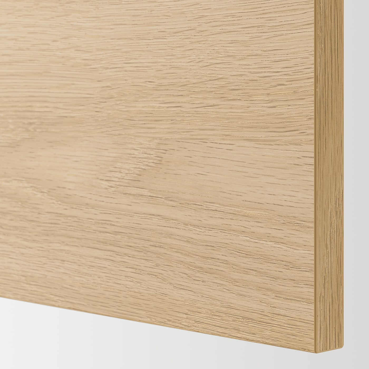 ENHET Zidni element+2 police/vrata, siva/efekt hrasta, 60x15x75 cm