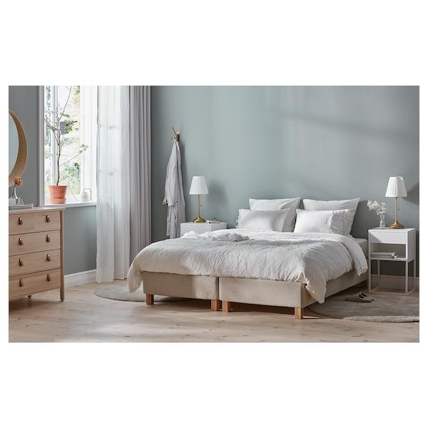 ESPEVÄR Divan, Mausund srednje tvrd/prirodna boja, 180x200 cm