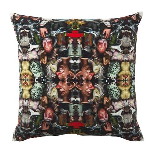 FÖREMÅL Ukrasna jastučnica IKEA Pamučni baršun boju čini intenzivnijom i mekan je na dodir. Jastuk dulje traje jer se može koristiti s obje strane.