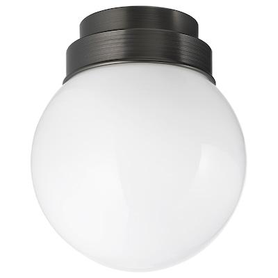 FRIHULT Stropna/zidna lampa, crna