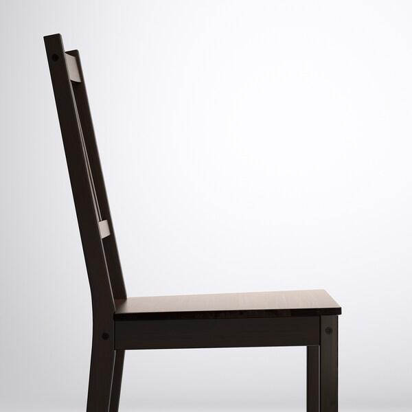 GAMLARED / STEFAN Stol+2 stolice, svijetli antikni bajc/smeđe-crna, 85 cm