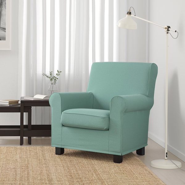 GRÖNLID Fotelja, Ljungen svijetlozelena