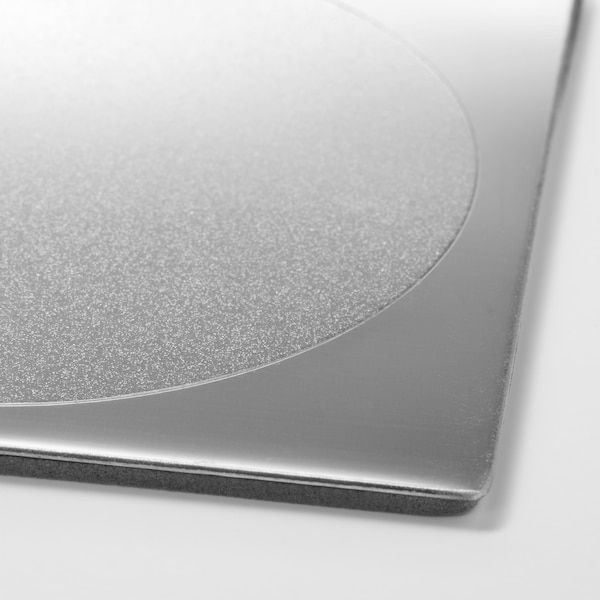 GROGGY Podmetač, kvadrat/nehrđajući čelik, 8x8 cm