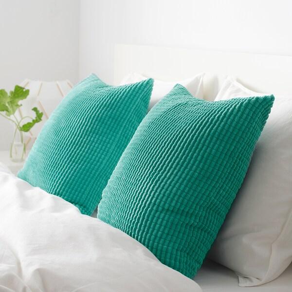 GULLKLOCKA ukrasna jastučnica tirkizna 50 cm 50 cm