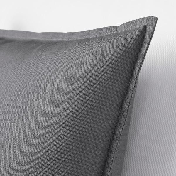 GURLI Ukrasna jastučnica, tamnosiva, 50x50 cm
