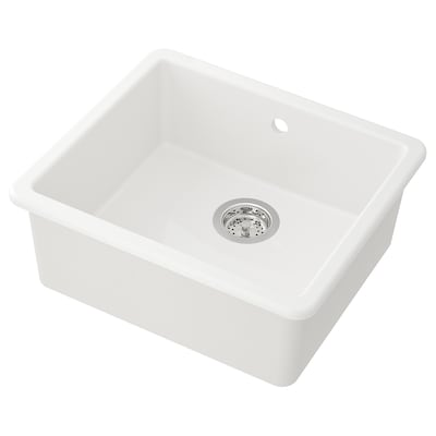 HAVSEN Ugrad sudoper,1 bazen, bijela, 53x47 cm