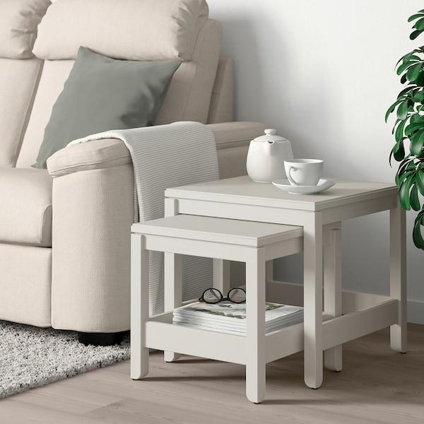 HAVSTA Komplet stolića, 2 kom, bijela