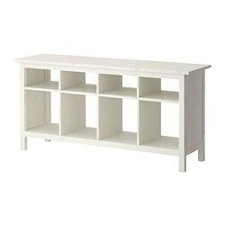 HEMNES, konzolni stolić, 157x40 cm, bijeli bajc