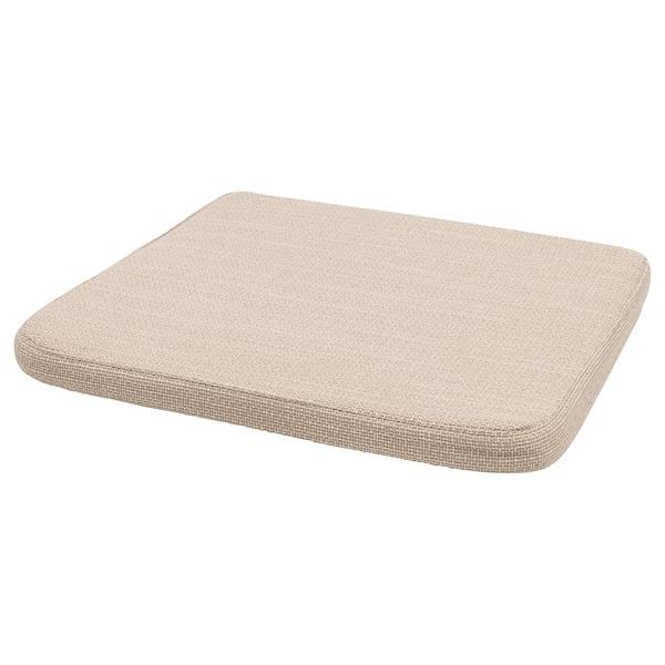 HILLARED Jastuk za stolicu, bež, 36x36x3.0 cm