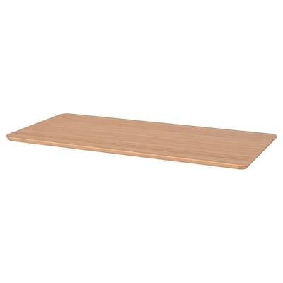 HILVER Ploča stola, bambus, 140x65 cm