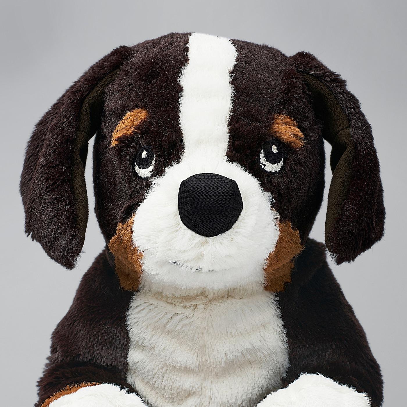 HOPPIG Plišana igračka, pas/bernski planinski pas, 36 cm