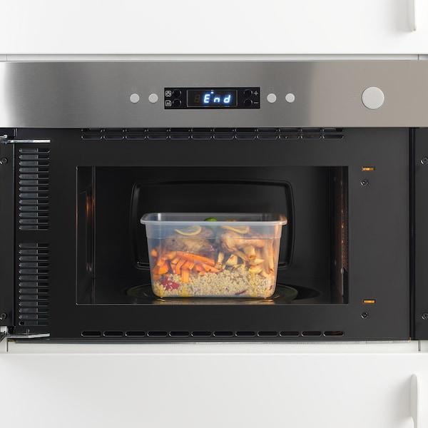 IKEA 365+ posuda za hranu pravokutno/plastika 21 cm 15 cm 11 cm 2.0 l