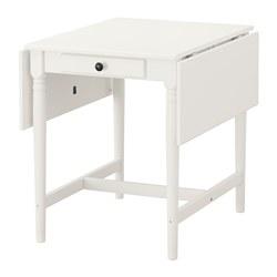 INGATORP preklopni stol, 59/88/117x78 cm, bijela