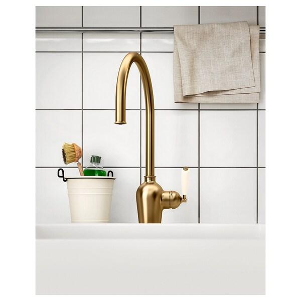 INSJÖN kuhinjska miješalica za vodu boja mjeda 40 cm