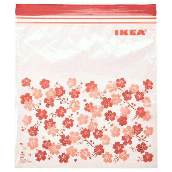 ISTAD Plastična vrećica sa zatvaračem, s uzorkom, 2.5 l