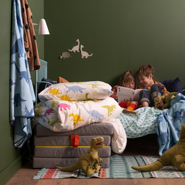 JÄTTELIK Plišana igračka, dinosaur/Tiranosaur, 44 cm