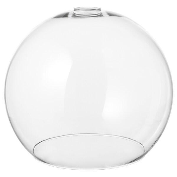 JAKOBSBYN sjenilo za visilicu prozirno staklo 30 cm 30 cm 25 cm 30 cm