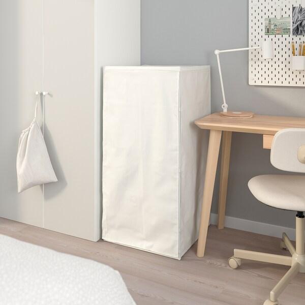 JONAXEL Okvir sa žičanim košarama/navlakama, bijela, 50x51x104 cm