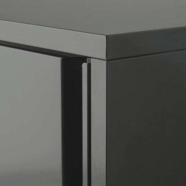 JOSEF Element, u zat/na otv, tamnosiva, 40x35x86 cm