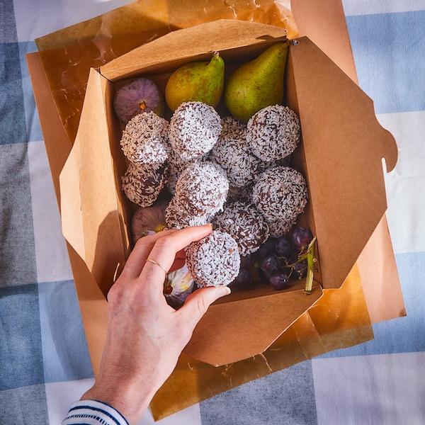KAFFEREP Zobene kuglice s kakaom i kokosom, s UTZ certifikatom