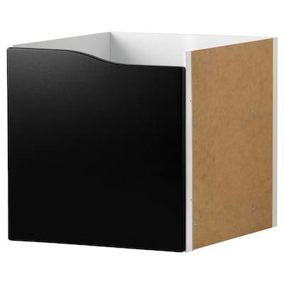 KALLAX umetak/1 vrata površina crne ploče 33 cm 37 cm 33 cm