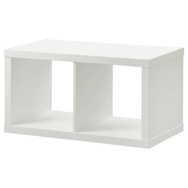 KALLAX Regal, bijela, 77x42 cm