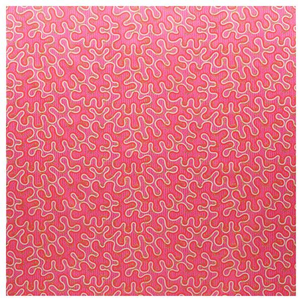 KARISMATISK Prethod odrezana tkanina, razni uzorci roza, 150x300 cm