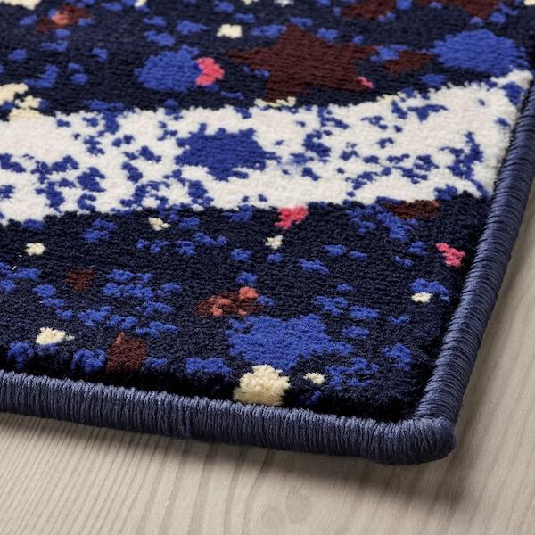 KARISMATISK Tepih, niski flor, višebojno, 133x195 cm