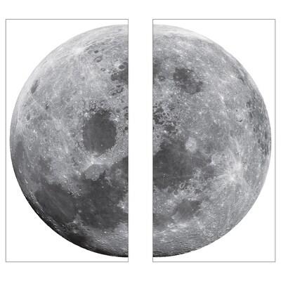 KINNARED Ukrasne naljepnice, Mjesec