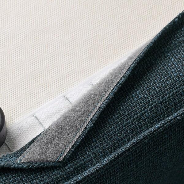 KIVIK podnožnik+odlaganje Hillared tamnoplava 90 cm 70 cm 43 cm