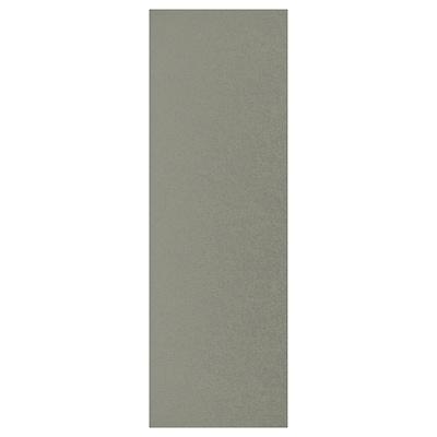 KLUBBUKT Vrata, sivo-zelena, 40x120 cm