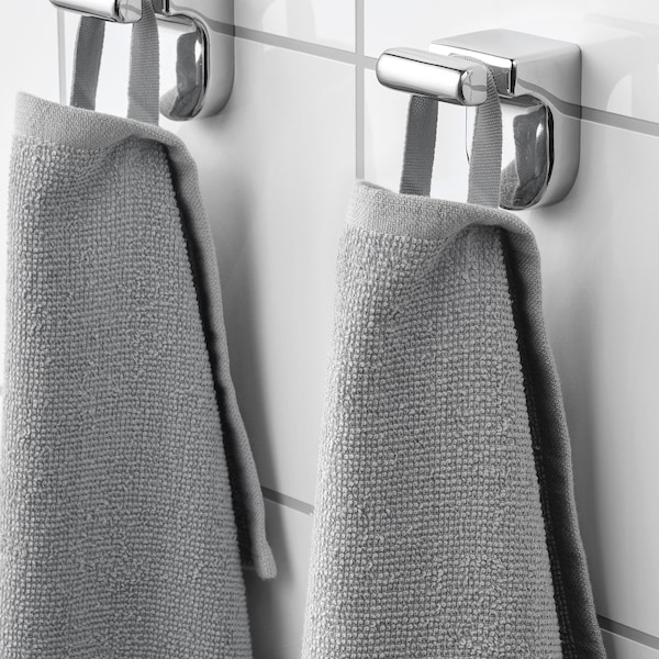 KORNAN kupaonski ručnik siva 320 g/m² 150 cm 100 cm 1.50 m²