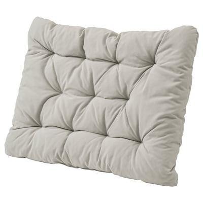 KUDDARNA Jastuk za leđa, vanjski, siva, 62x44 cm