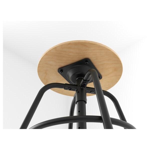 KULLABERG stolac bor/crna 110 kg 34 cm 36 cm 36 cm 47 cm 69 cm