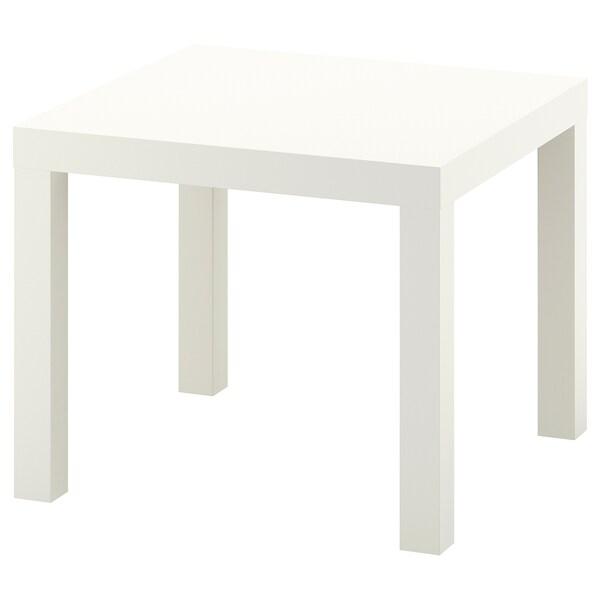LACK Pomoćni stol, bijela, 55x55 cm