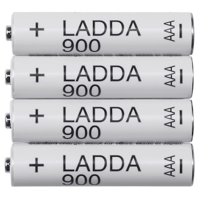 LADDA Punjiva baterija, HR03AAA1,2V