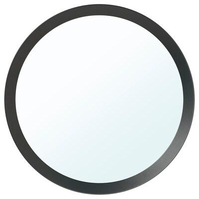 LANGESUND Ogledalo, tamnosiva, 50 cm