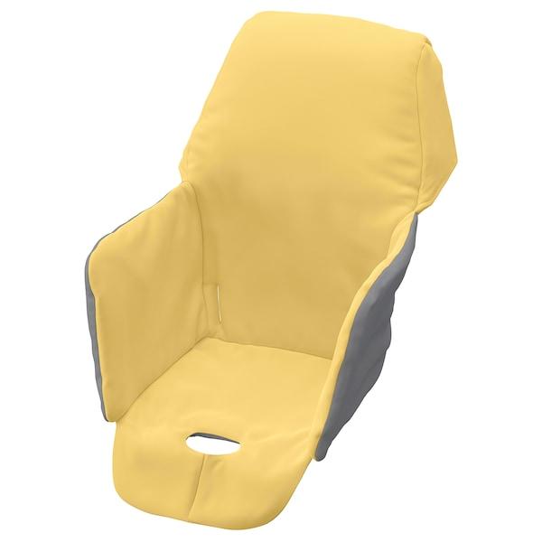 LANGUR podstavlj navlaka za sjed hranilic žuta 22 cm 21 cm 40 cm