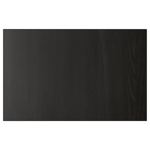 LAPPVIKEN Fronta za vrata/ladicu, crno-smeđa, 60x38 cm