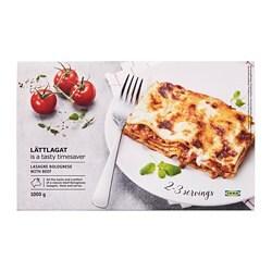 LÄTTLAGAT Lasagne Bolognese sa slojevima svježe tjestenine, umakom od govedine i rajčice, beschamel umakom i gouda sirom, 1000 g.